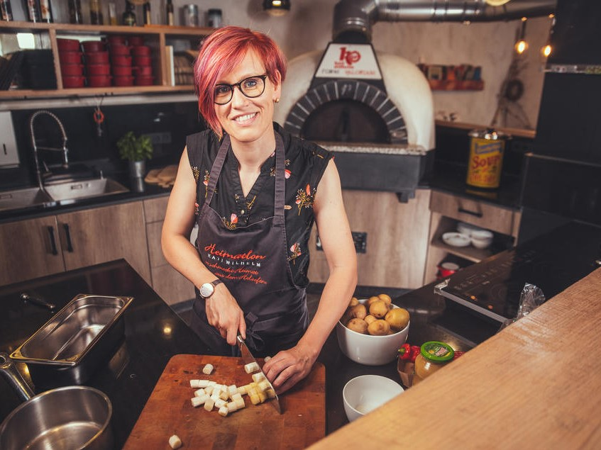 Heimatlon - Essen bei Kati Wilhelm