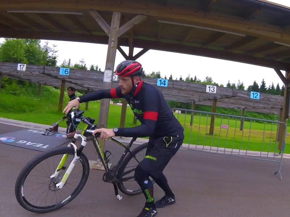 Bike Biathlon - Wettkampf